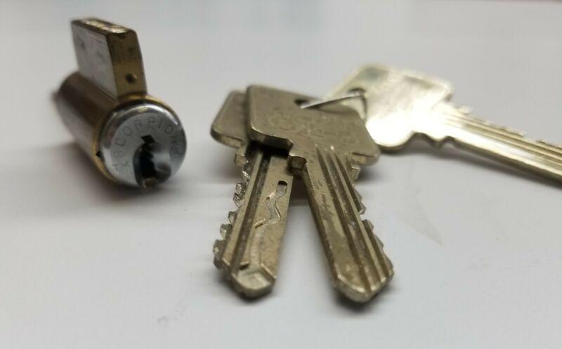 HIGH SECURITY Scorpion Cx-5 KIK ! Comes with 3 Keys !