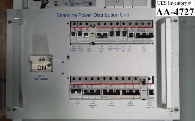 AMAT Applied Materials 9090-00846 Beamline Power Distribution Unit Rev. B Used