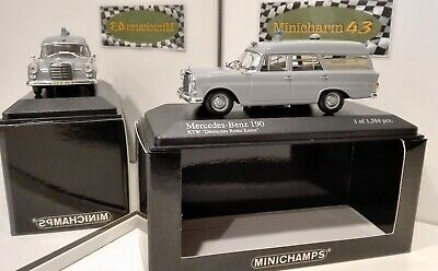 Minichamps 1:43 Mercedes-Benz W110 190 Universal 1961 Ambulance Rote Kreuz