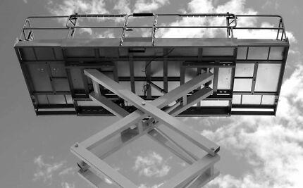 EWPA Yellow Card photo I.D  Scissor Lift Training. Plant.