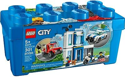Lego City 60270 Great Vehicles Police Station Brick Box New Building Kit