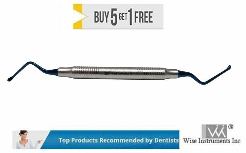 Dental Surgical Curete Super Lucas Curette 86S Serrated 2.8mm by Wise instrument