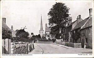 Kidlington. Village & Church # 1075 by Taunt & Co.