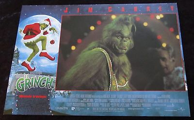 THE GRINCH WHO STOLE CHRISTMAS lobby card  # 12 - JIM CARREY