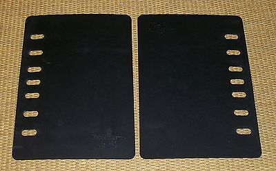 Classic Size Black 2 Page Liftersavers Franklin Covey Planner Paper Protector