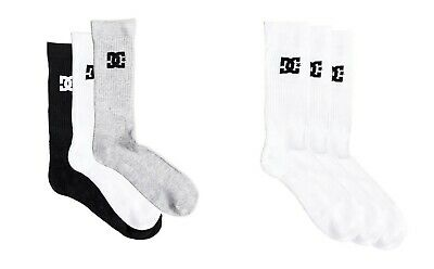 Dc Shoes 3 Pack Crew Sport Socken EDYAA03149 Herren Größe UK 7 - 10 Dc Shoes Quiksilver