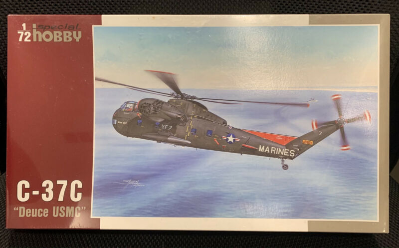 """1/72 Special Hobby C-37C """"Deuce USMC"""" Helicopter (Sikorsky CH-37C Mojave)"""