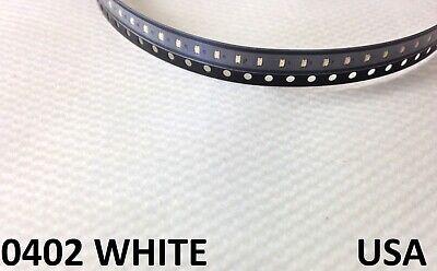 100x White 0402 Led Lamp Light Bulb Smd Smt Rc Model Hobby Usa