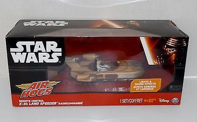 Air Hogs Star Wars Remote Control X-34 Land Speeder {4245}
