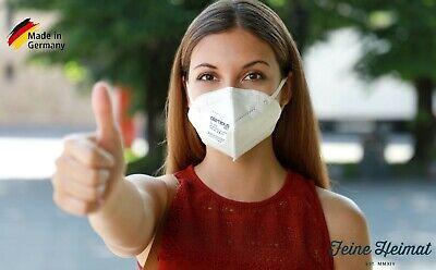 atemious PRO 10 x Komfort FFP2 Atemschutzmaske aus Deutschland einzelverpackt