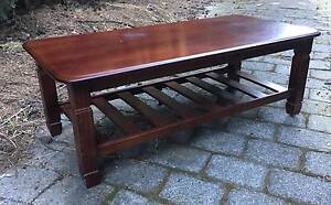 Solid timber coffee table Hawthorn East Boroondara Area Preview
