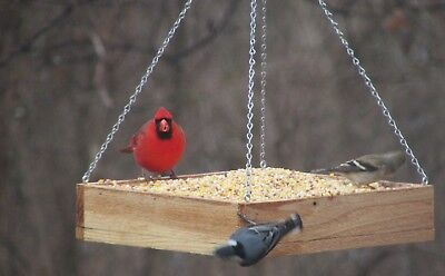 Bird Feeder, Hanging, Cedar