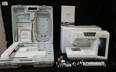 BABY LOCK ELLAGEO ESG3 SEWING MACHINE WITH EMBROIDERY UNIT, DESIGNS