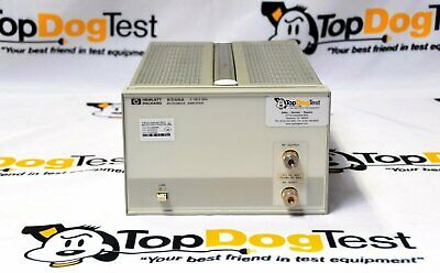 Hp Agilent Keysight 8348a Microwave Amplifier 26.5 Ghz 10 Vdc 20 Dbm Rf