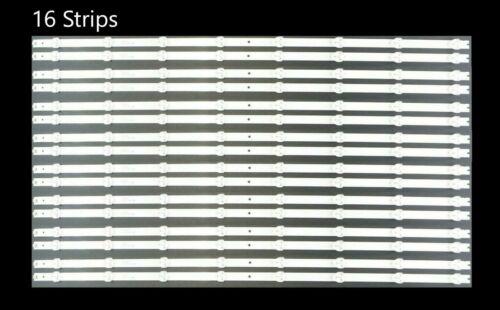 LB65018 (16)  Vizio D65U-D2 D65-D2 E65X-C2 LED Strips FULL SET
