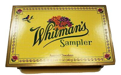 3 Boxes of Whitman's Sampler Milk Chocolate Assorted Boxed Candy.