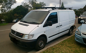 2002 Mercedes Benz Vito van -  Has Issues Cardiff Heights Lake Macquarie Area Preview