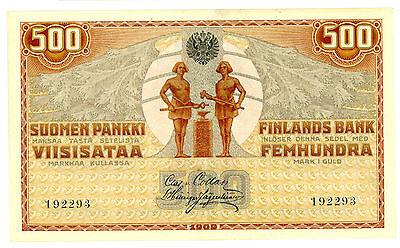 Finland ... P-23 ... 500 Markkaa ... 1909 ... *XF*