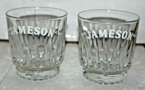 Jameson Glasses Cocktail Rocks Set of 2 Duratuff USA
