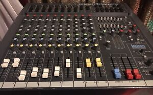 Spirit powered mixer board with effects and eq