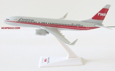 Flight Miniatures American Airlines Twa Heritage Livery Boeing 737 800 1 200 Sca