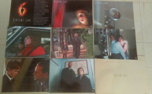 Bruce WILLIS Toni COLETTE 8 french Lobby Cards THE SIXT SENTH