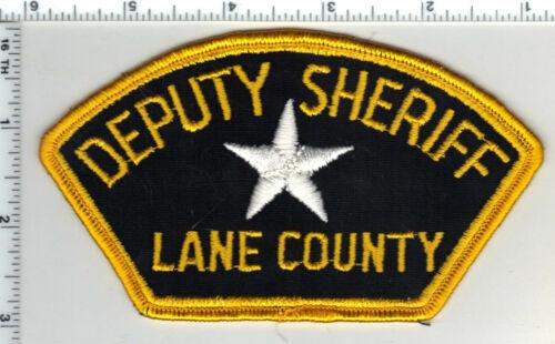 Lane County Deputy Sheriff (Oregon) 2nd Issue Shoulder Patch