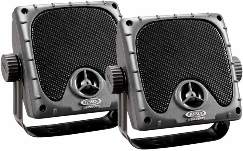 "JENSEN JXHD35 Heavy Duty 3.5"" MINI Weatherproof Surface Mount Speakers (1 Pai..."