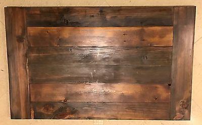 Reclaimed Wood Table Top 30x48 Urban Rustic Bar Restaurant Farmhouse Shabby Chic