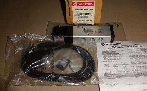 Norgren V61B513AA213JC Directional Control Valve 24VDC NEW