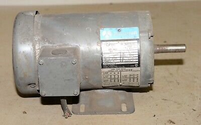 Rockwell Band Saw Sander Electric Motor 230460 1725 Rpm 3 Phase 1 Hp No 66-077