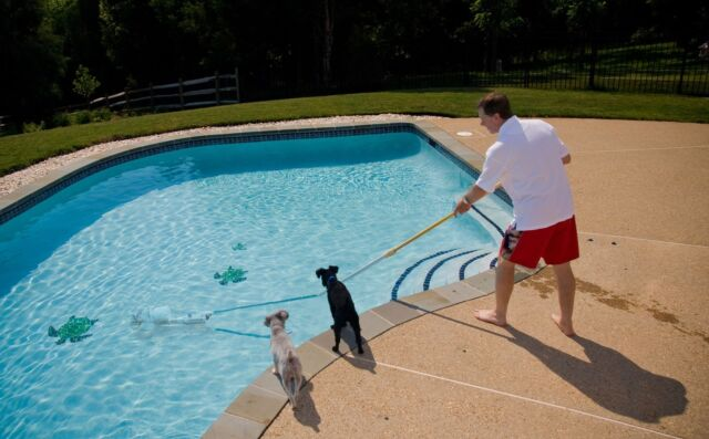 Rechargeable Battery Portable Pool Vacuum