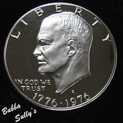 1976 Silver Proof Eisenhower Dollar