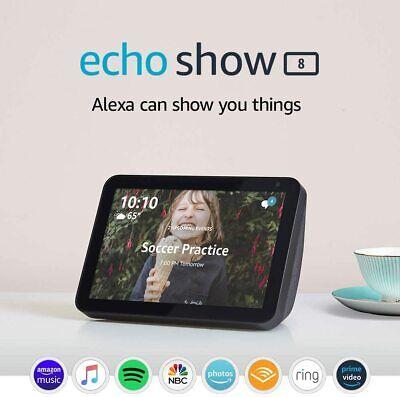 NEW Amazon Echo Show 8 Smart Speaker with Alexa - Charcoal