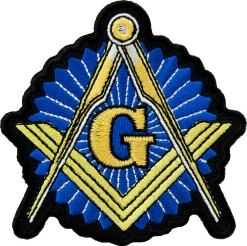 5 Pcs Masonic Patches, York Rite Patches, Patches, Square & Compass Patches