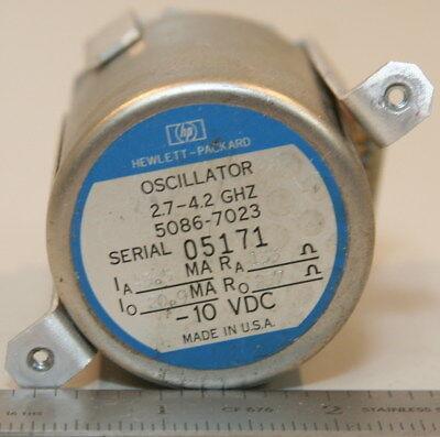 Agilenthp 5086-7023 Oscillator 2.7 To 4.2 Ghz