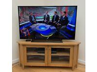 IKEA Oak Corner TV Stand