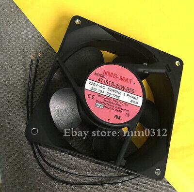 1pcs Nmb 4715ts-22w-b50 Ac220v 120 120 38mm Metal Fan