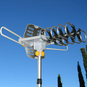 150MILES-OUTDOOR-TV-ANTENNA-MOTORIZED-AMPLIFIED-HDTV-HIGH-GAIN-36dB-UHF-VHF
