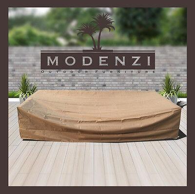 Modenzi All-Weather wicker rattan Patio Furniture COVER set (119