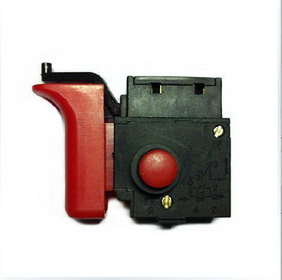 Ac 250v 4a Red Button Bosch Drill Hammer Electric Power Tool Trigger Switch