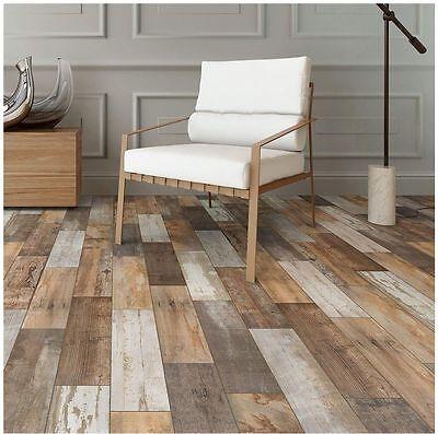 - 6x24 in. Porcelain Floor Shower Wall Kitchen Backsplash Wood Look Tile Flooring