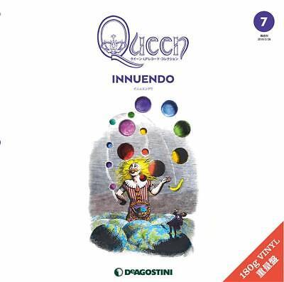Queen 2LP INNUENDO Deagostini Record Collection Vinyl Freddie Mercury *Japan new