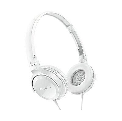 Pioneer SE-MJ512 Auriculares de Diadema Cerrados, Blanco