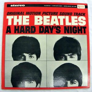THE BEATLES - A HARD DAY'S NIGHT UNITED ARTISTS UAS 6366 STEREO LP NM