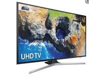 """50"""" Samsung Smart 4K Ultra HD HDR LED TV UE50MU6100 warranty and delivered"""