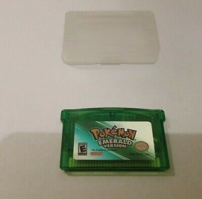 Pokemon Emerald Version Fast Shipping from USA *Read*