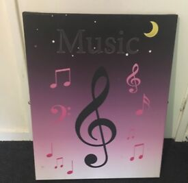 Music canvas
