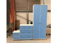 Pink and blue 3 piece bedroom sets £199 each