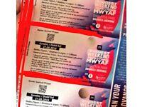 1 x Biggest Big Weekend ticket - SUNDAY. (Swansea)